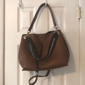 Calvin Klein luggage leather bag